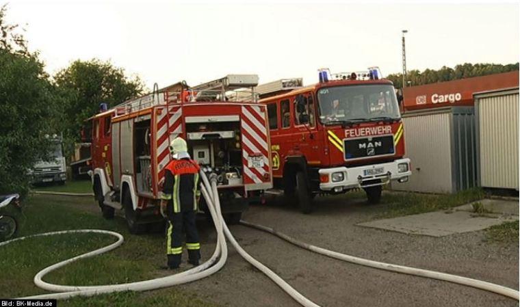 Brand Schwandorf
