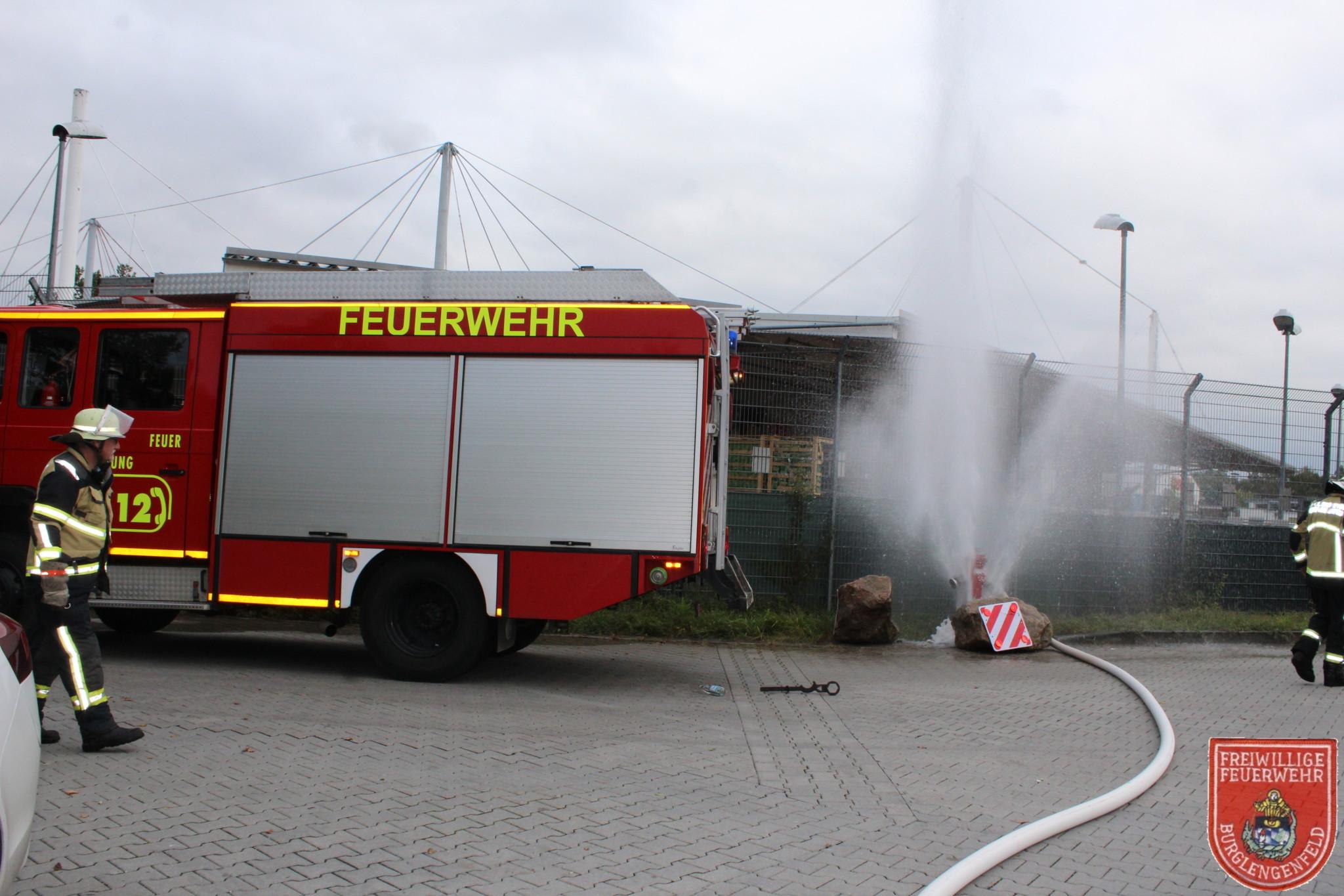 Brand Burglengenfeld